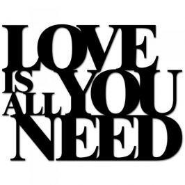 Napis na ścianę dekoracyjny DEKOSIGN LOVE IS ALL YOU NEED