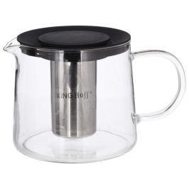 Dzbanek do herbaty szklany z zaparzaczem KINGHOFF 1,5 l