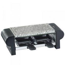 Grill elektryczny raclette kamienny KUCHENPROFI HOT STONE DUO CZARNY 400 W