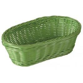Koszyk na chleb i pieczywo AMBITION LIGHT GREEN OWALNY 24 x 16 cm