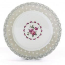 Talerz deserowy porcelanowy FLORINA TWINS MIX WZORÓW 19,5 cm