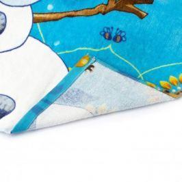 Ręcznik dla dzieci kąpielowy bawełniany FARO DISNEY KRAINA LODU ŻÓŁTY  70 x 140 cm