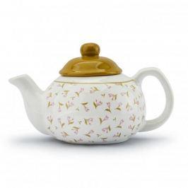 Dzbanek do herbaty i kawy ceramiczny MEADOW BIAŁY 0,8 l
