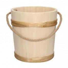 Wiadro drewniane SZNUR 5 l