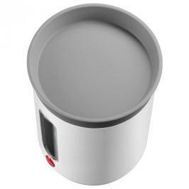 Puszka na herbatę ze stali nierdzewnej z okienkiem HAILO KITCHEN BIAŁA 0,8 l