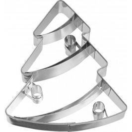 Foremka / Wykrawacz do ciastek metalowy BIRKMANN STROJNA CHOINKA DUŻA 10 cm