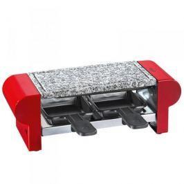 Grill elektryczny raclette kamienny KUCHENPROFI HOT STONE DUO CZERWONY 400 W