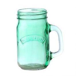 Słoik do koktajli i smoothie szklany KILNER ZIELONY 0,4 l