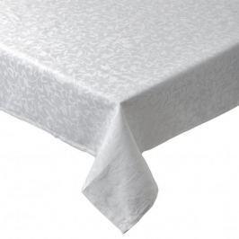 Obrus na stół bawełniany CANDELA BIAŁY 140 x 200 cm