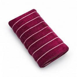 Ręcznik łazienkowy bawełniany MISS LUCY VACANZA BORDOWY 50 x 90 cm