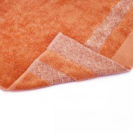 Ręcznik łazienkowy bawełniany MISS LUCY KUBA POMARAŃCZOWY 50 x 90 cm