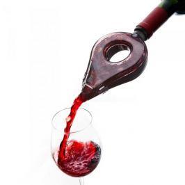 Nalewak / Dozownik do wina plastikowy z napowietrzaczem VACU VIN SZARY