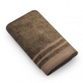 Ręcznik łazienkowy bawełniany MISS LUCY MADERA BRĄZOWY 50 x 90 cm