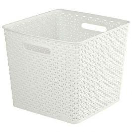 Koszyk plastikowy CURVER MY STYLE KREMOWY 25 l