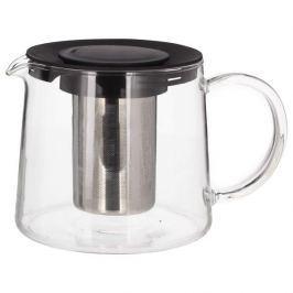Dzbanek do herbaty szklany z zaparzaczem KINGHOFF 1 l