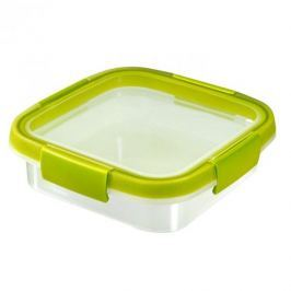 Pojemnik na żywność plastikowy CURVER SMART FRESH KWADRATOWY LIMONKOWY 0,6 l