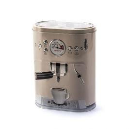 Puszka na kawę metalowa OWAL EKSPRES BEŻOWA