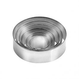 Foremka / Wykrawacz do ciastek metalowy TESCOMA DELICIA OKRĄGŁY 6 szt.