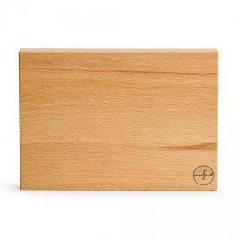 Deska do krojenia drewniana SAGAFORM OAK BEŻOWA 30 x 21,5 cm