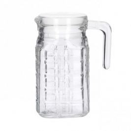 Dzbanek szklany do napojów KRATKA 0,5 l