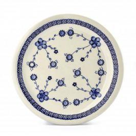 Talerz obiadowy płytki ceramiczny GU-1014 DEK. 273 Bolesławiec 27,5 cm