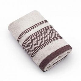 Ręcznik do rąk bawełniany MISS LUCY SANNY ECRU 30 x 50 cm