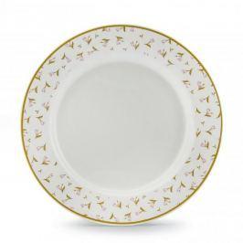 Talerz obiadowy płytki ceramiczny MEADOW BIAŁY 27 cm