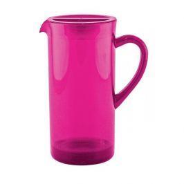 Dzbanek do napojów plastikowy ZAK RÓŻOWY 1,7 l