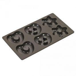 Forma do 6 pierników silikonowa LURCH TRUST BRĄZOWA Formy do pieczenia