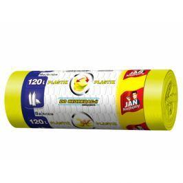 Worki na śmieci do segregacji 120 l JAN NIEZBĘDNY PLASTIK 10 szt. Kosze na śmieci