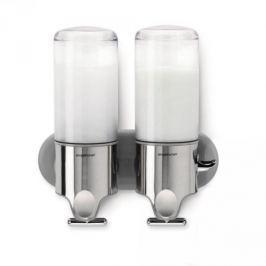 Dozownik do płynu do mycia naczyń podwójny stalowy SIMPLEHUMAN DUO 445 ml Akcesoria do sprzątania