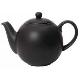 Dzbanek do herbaty ceramiczny LONDON POTTERY GLOBE CZARNY 1,1 l