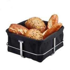 Koszyk na chleb i pieczywo bawełniany GEFU BRUNCH CZARNY 22 x 22 cm Inne naczynia kuchenne