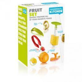 Zestaw narzędzi do obierania owoców plastikowy TOMORROW'S KITCHEN BLEND WIELOKOLOROWY 4 szt . Pozostałe akcesoria kuchenne