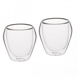 Filiżanki do kawy i herbaty szklane termiczne z podwójnymi ściankami KITCHEN CRAFT CAKE 250 ml 2 szt. Filiżanki