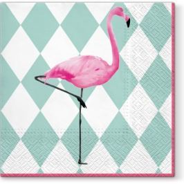 Serwetki papierowe dekoracyjne PAW EXOTIQUE WIELOKOLOROWE 20 szt. Obrusy serwetki i bieżniki