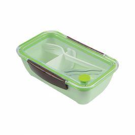Lunch box plastikowy ZEST FOR LIFE CYK ZIELONY 0,6 l Pojemniki kuchenne