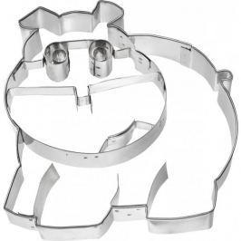 Foremka / Wykrawacz do ciastek metalowy BIRKMANN HIPOPOTAM 11 cm Pozostałe akcesoria kuchenne