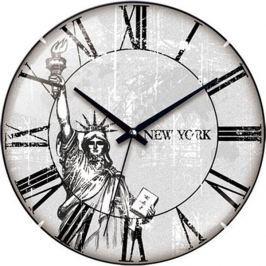Zegar ścienny FLORINA NEW YORK 31 cm