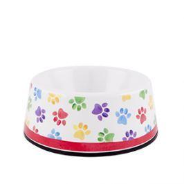 Miska dla psa z melaminy ASHDENE FEET BIAŁA Pozostałe akcesoria dla zwierząt