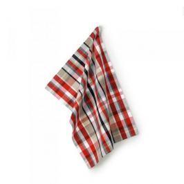 Ręcznik kuchenny bawełniany KELA FRIDA KRATKA WIELOKOLOROWY 70 x 50 cm