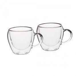 Filiżanki do kawy i herbaty szklane termiczne z podwójnymi ściankami KITCHEN CRAFT TEA 230 ml 2 szt.