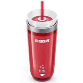 Kubek termiczny plastikowy ZOKU ICED COFFEE MAKER CZERWONY 260 ml Kubki