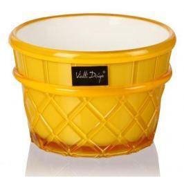 Pucharek do lodów i deserów plastikowy VIALLI DESIGN LIVIO GELATO  ŻÓŁTY 265 ml Inne naczynia kuchenne