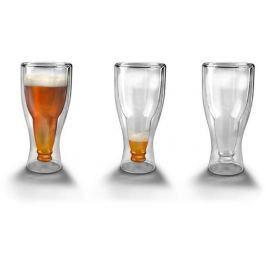 Szklanka termiczna z podwójną ścianką do piwa GADGET MASTER BUTELKA 300 ml Kufle