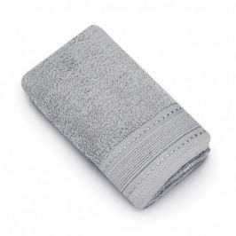 Ręcznik łazienkowy do rąk bawełniany MISS LUCY MARLA SZARY 30 x 50 cm