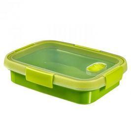 Pojemnik na żywność plastikowy CURVER SMART TO GO PROSTOKĄTNY LIMONKOWY 0,7 l Pojemniki kuchenne