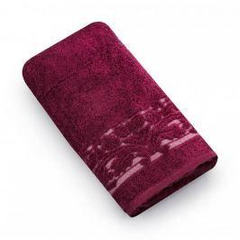 Ręcznik łazienkowy bawełniany MISS LUCY MARTYNIKA CZERWONY 50 x 90 cm Ręczniki