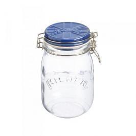 Słoik z pokrywką szklany KILNER TOP JAR NIEBIESKI 1 l Inne naczynia kuchenne