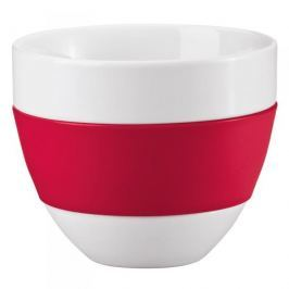 Kubek do kawy porcelanowy KOZIOL AROMA CZERWONY 350 ml Kubki